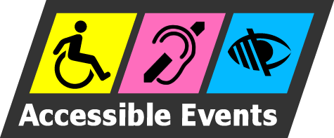 Accessible Events Logo - to HOME page